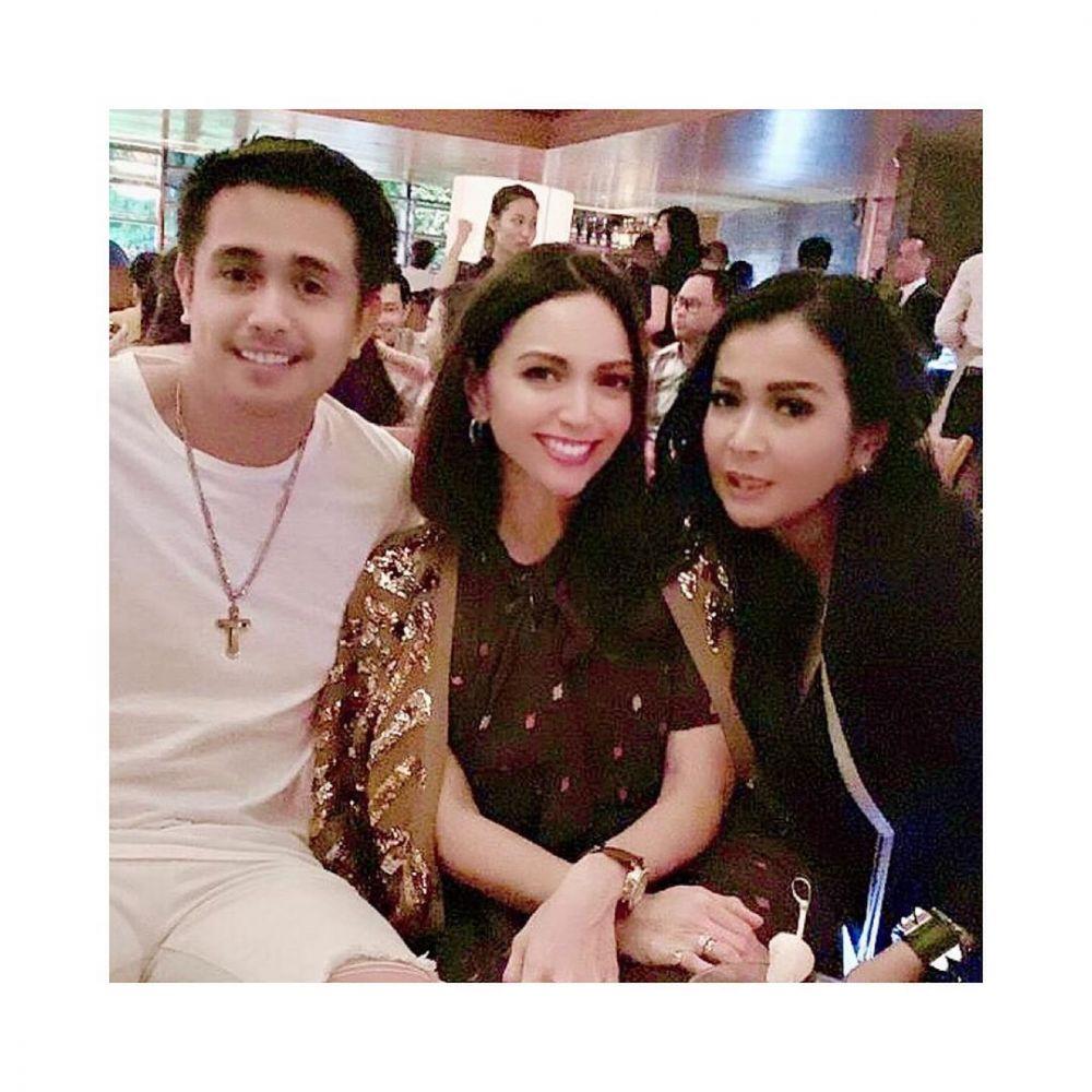Ajun dan adik ipar © 2020 brilio.net Instagram