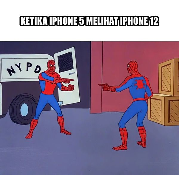 meme iphone 12 rilis Berbagai sumber