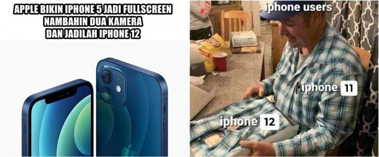 Baru rilis, 10 meme lucu iPhone 12 ini bikin nyengir