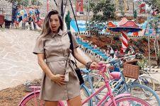 10 Potret babymoon Jennifer Bachdim di Yogyakarta, seksi menawan