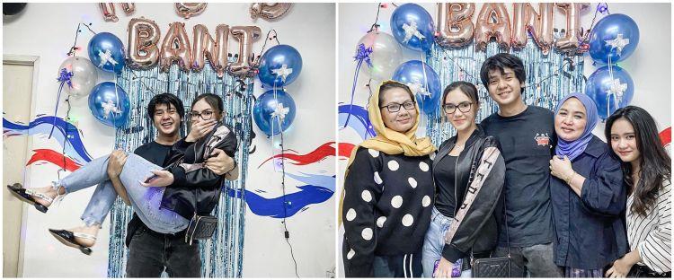 10 Momen perayaan ultah Arbani Yasiz ke-26, dihadiri calon mertua