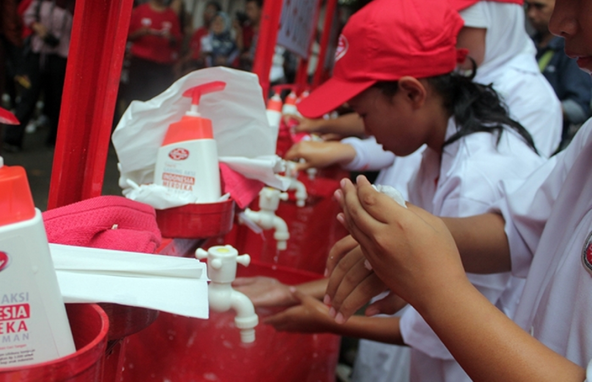 4 Fakta kampanye pemerintah serukan cuci tangan pakai sabun