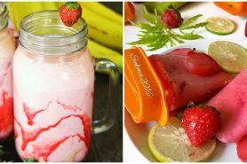 10 Resep minuman segar berbahan stroberi, sehat dan mudah dibuat