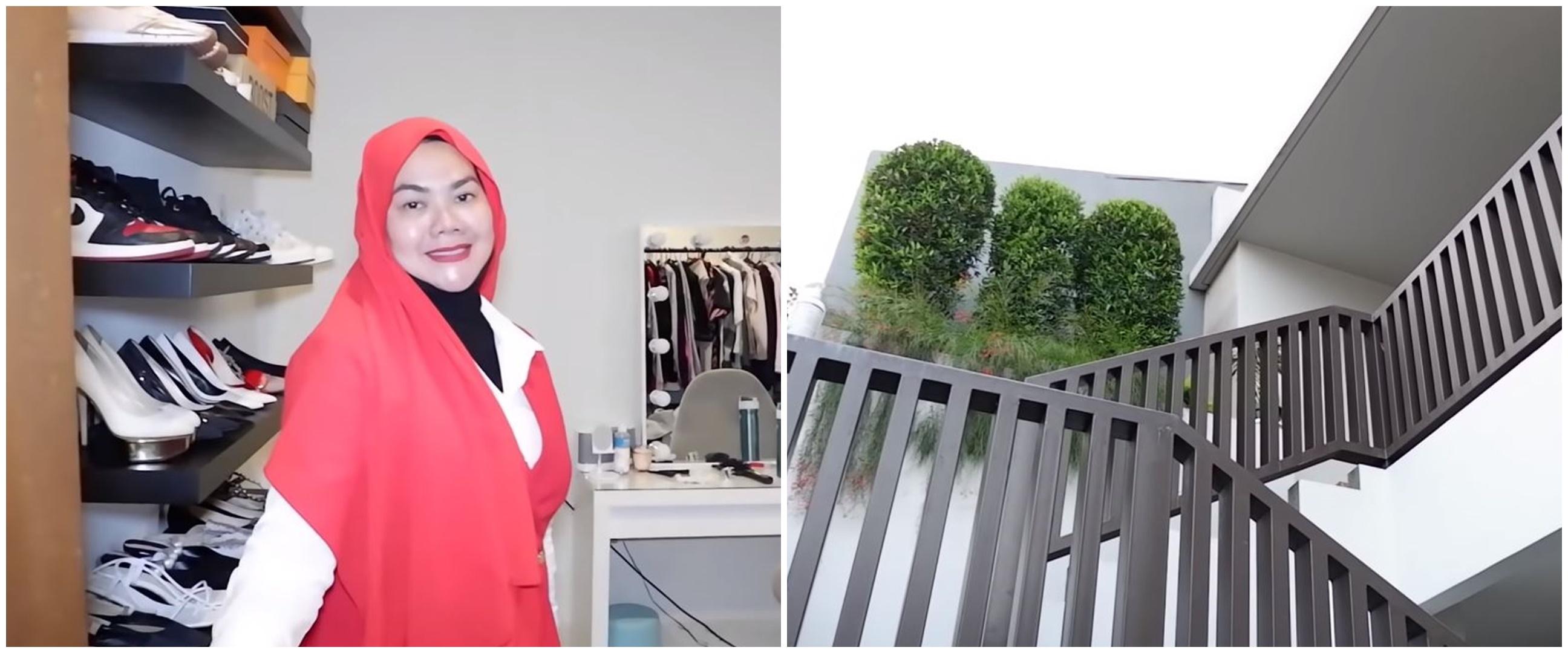 15 Potret rumah baru Sarita Abdul Mukti, kolam renangnya ada dua