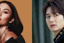 Curi perhatian, Agnez Mo foto bareng Lee Min-ho untuk proyek terbaru