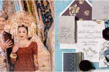 8 Pernak-pernik pernikahan Nikita Willy dan Indra, mewah & elegan