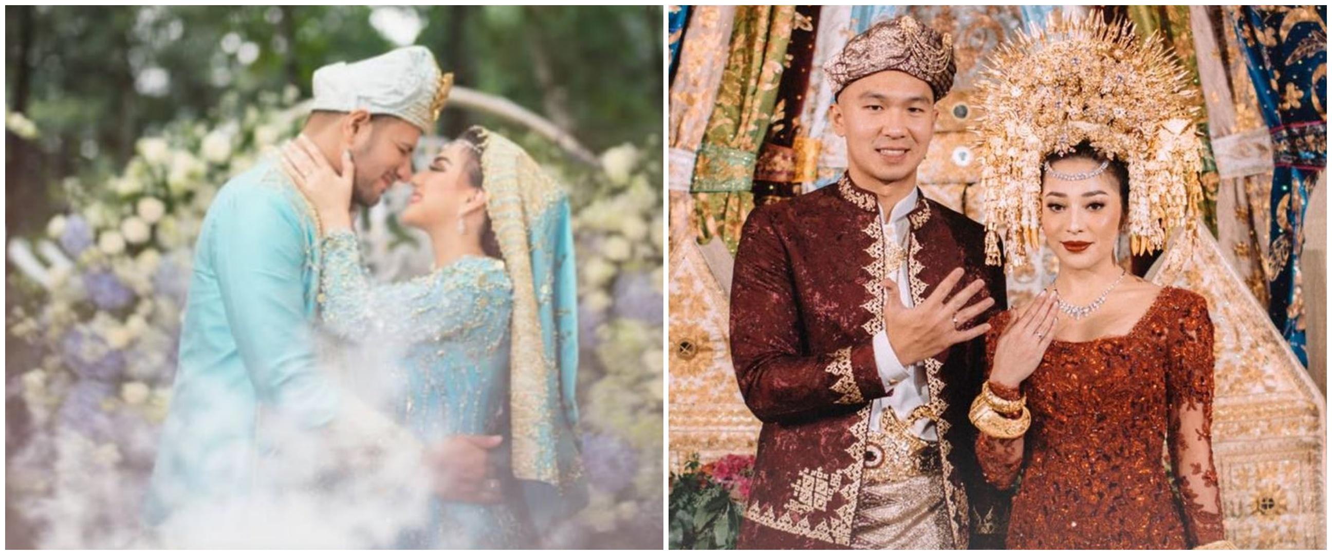 7 Pesinetron menikah dengan adat Minangkabau, terbaru Nikita Willy
