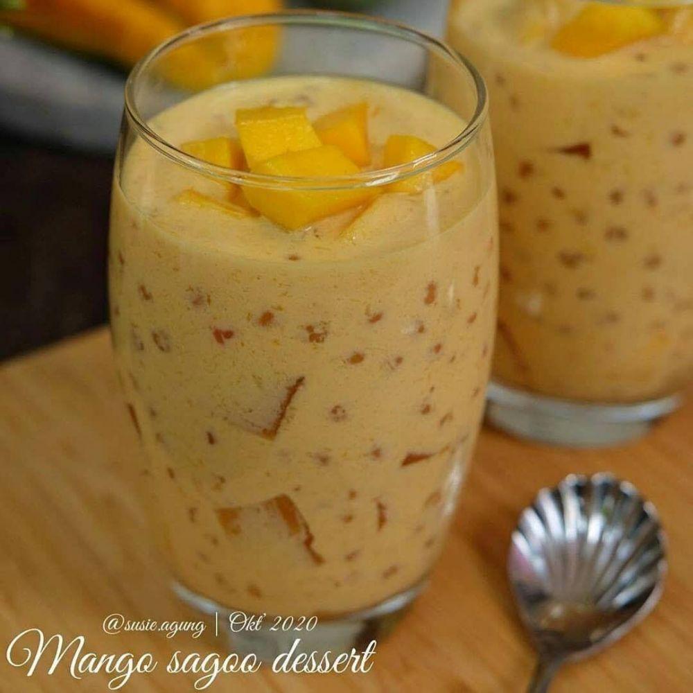 Resep minuman mangga © 2020 brilio.net