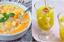 10 Resep minuman dari mangga, segar, manis dan mudah dibuat