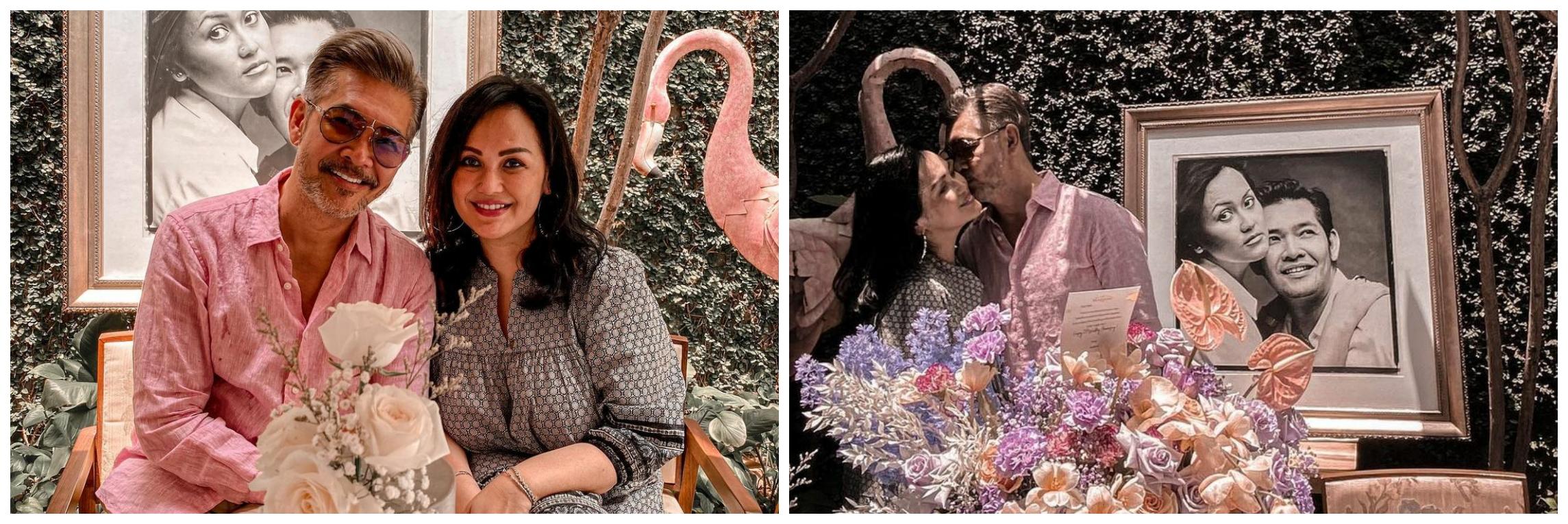 10 Potret Ferry Salim dan istri rayakan anniversary pernikahan ke-25