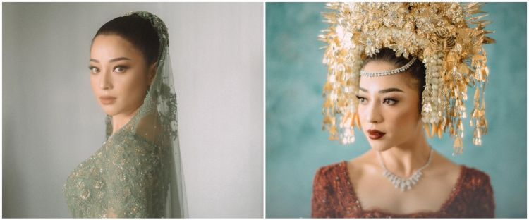 10 Gaya Nikita Willy dari pra nikah sampai akad, stunning abis