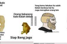 10 Meme lucu 'siap bang jago' ini bikin tepuk jidat