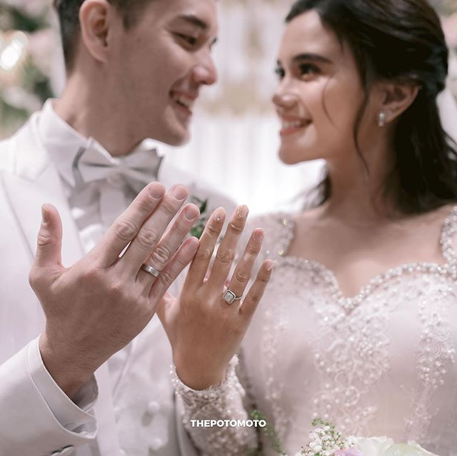 Cincin pernikahan pesinetron  Instagram