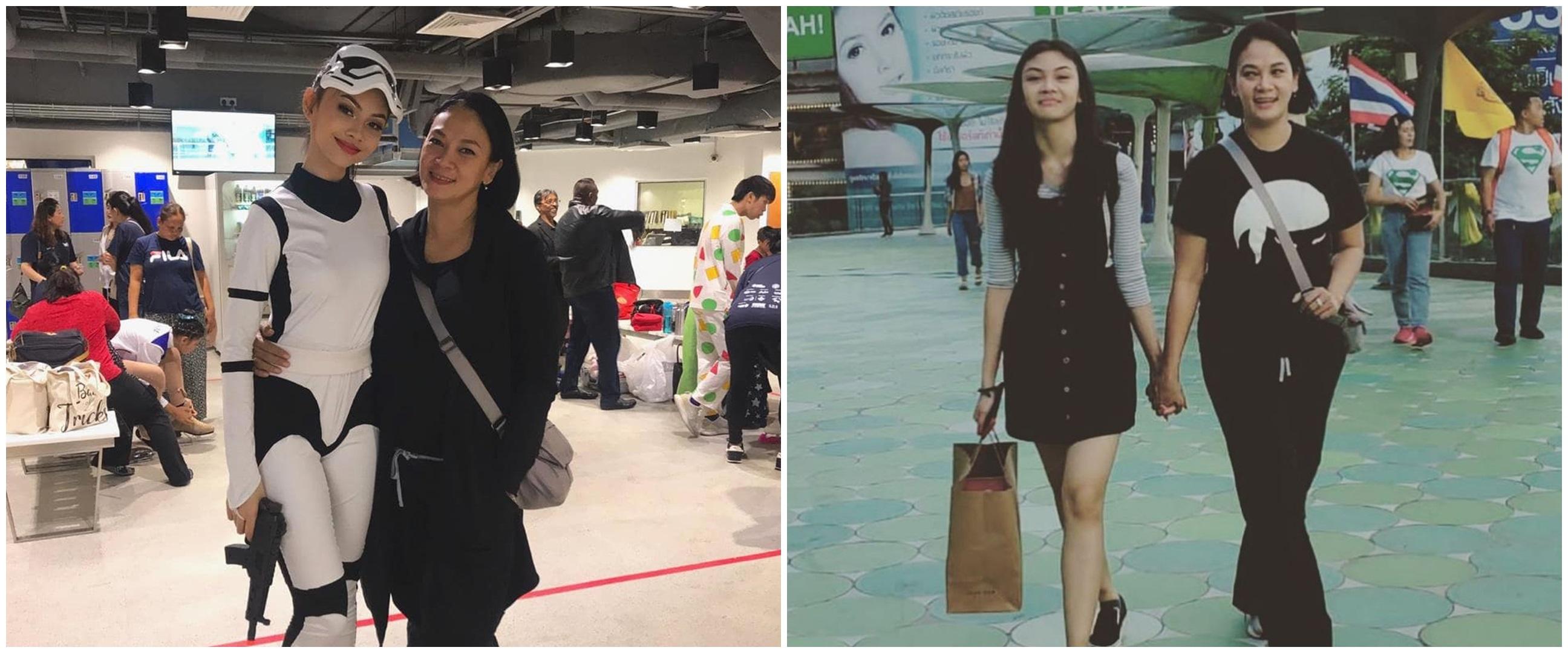 10 Potret kompak Dian Nitami dan putrinya Sasi, bak sahabat