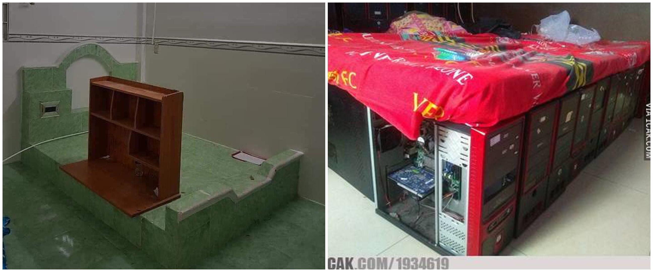 10 Potret tempat tidur ini desainnya absurd abis, kocak