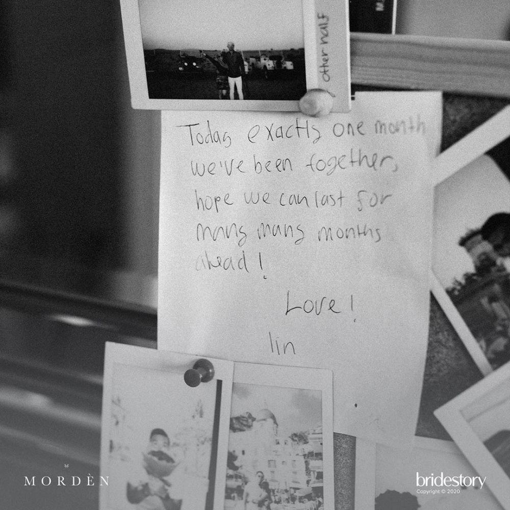 surat cinta Indra untuk Nikita © 2020 brilio.net