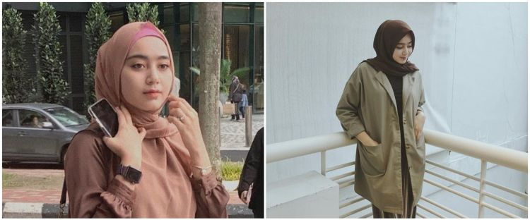 10 Gaya hijab Serell Thalib istri Taqy Malik, selalu tampil memesona