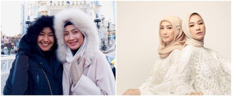12 Potret manis Alya Rohali & Desy Ratnasari, bersahabat 20 tahun