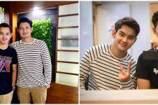 10 Potret kebersamaan Chand Kelvin & Aditya Suryo, sibling goals