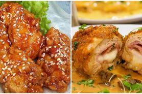 10 Resep ayam bercita rasa internasional, enak dan mudah dibuat