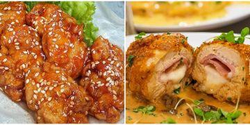 10 Resep ayam bercitarasa Internasional, enak dan mudah dibuat