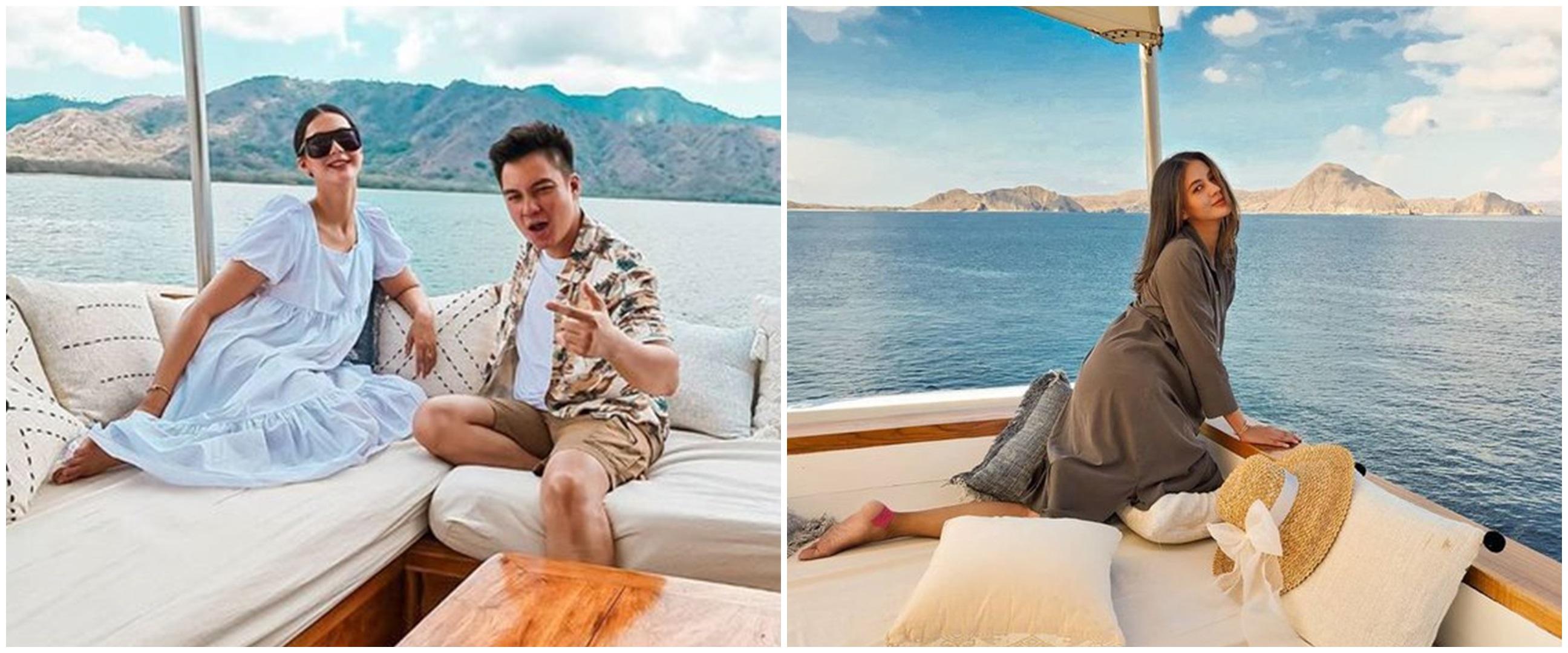 10 Potret Baim Wong dan Paula liburan ke Labuan Bajo, bak ABG pacaran