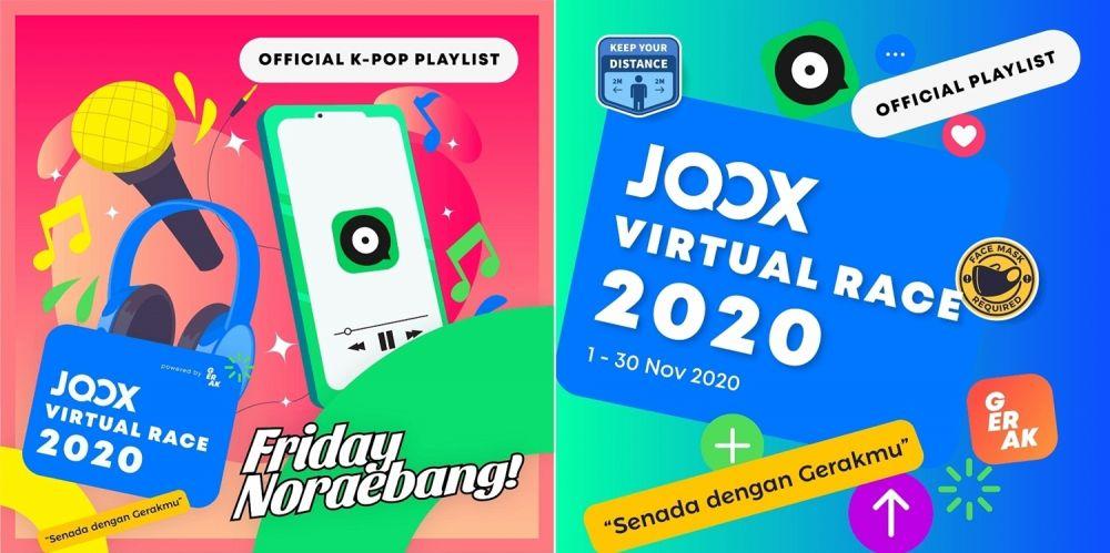 Joox Virtual Race © 2020 brilio.net