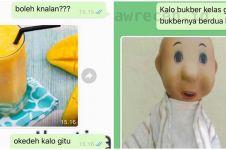 10 Balasan chat WhatsApp pakai gambar ini lucu-lucu gimana gitu