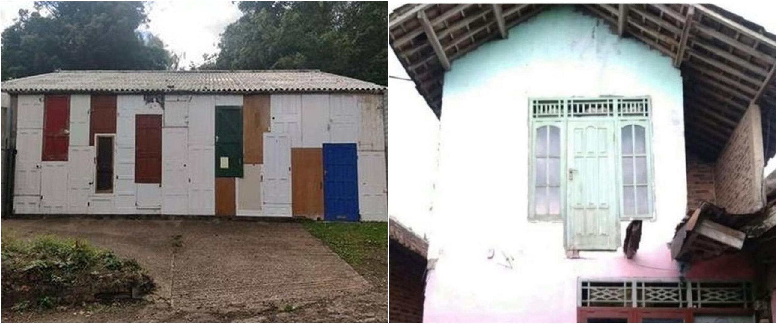 10 Desain pintu rumah nyeleneh ini bikin gagal paham