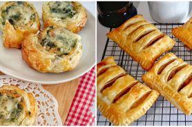 10 Resep kreasi puff pastry, lezat dan cocok jadi sajian keluarga