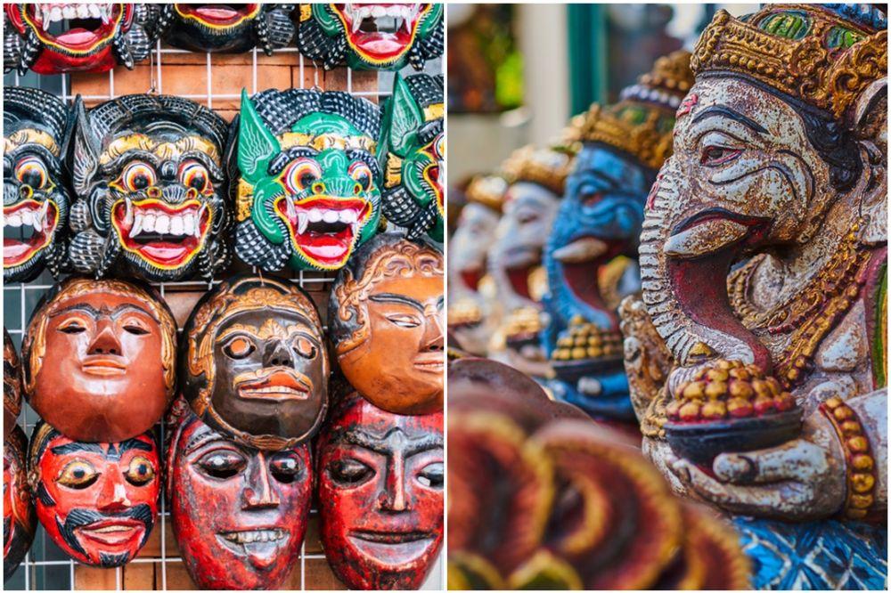 5 Item favorit turis luar negeri di Kuta Art Market, batik Bali diburu © 2020 brilio.net