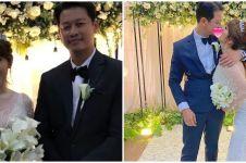 Dinikahi pengusaha tajir, ini 10 momen pernikahan Angela Lee