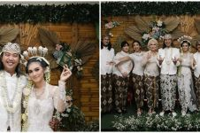 10 Momen pernikahan Bojes jebolan AFI menikah, penuh kebahagiaan
