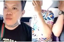 Viral video pria makan rambutan sambil ngobrol, endingnya bikin kaget