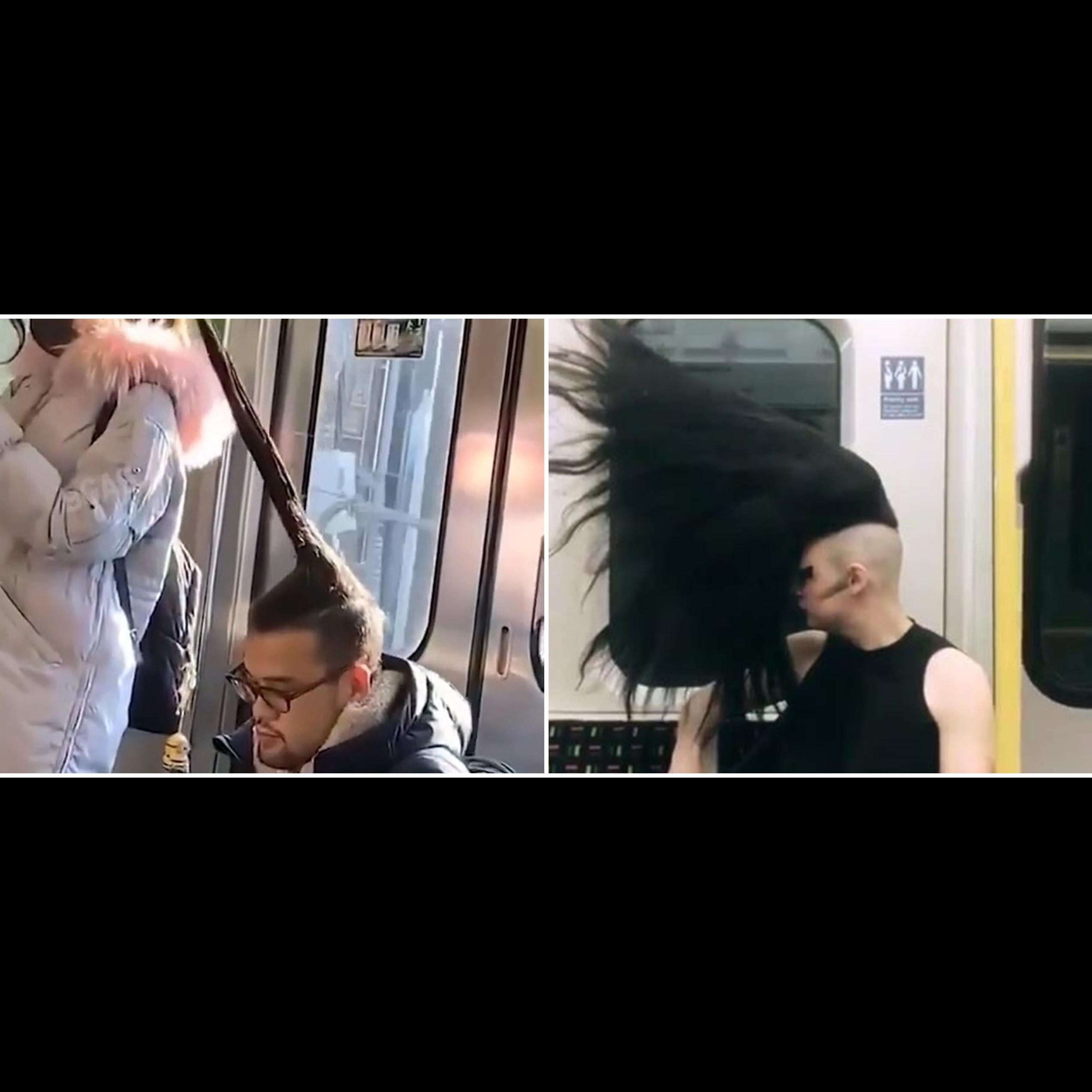 10 Gaya rambut nyeleneh penumpang ini bikin kamu nyengir