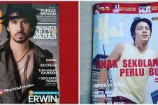 Potret 10 penyanyi pria jadi cover majalah lawas, bikin nostalgia