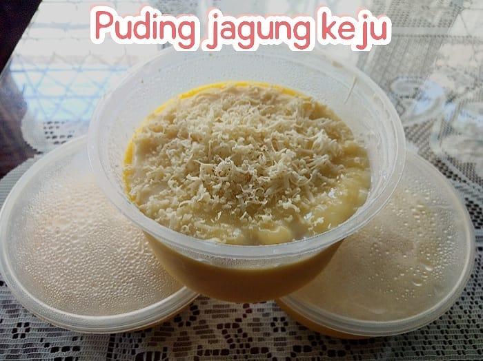 resep puding jagung ©Instgaram