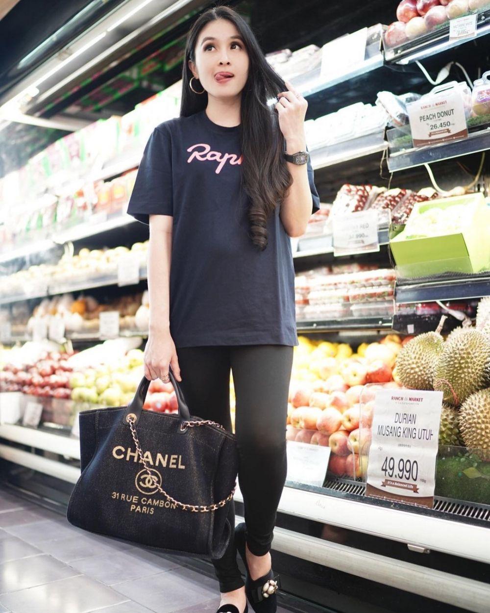 Sandra Dewi naik 5 kg © Instagram
