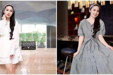 Berat badan naik 5 kg, penampilan terbaru Sandra Dewi jadi sorotan