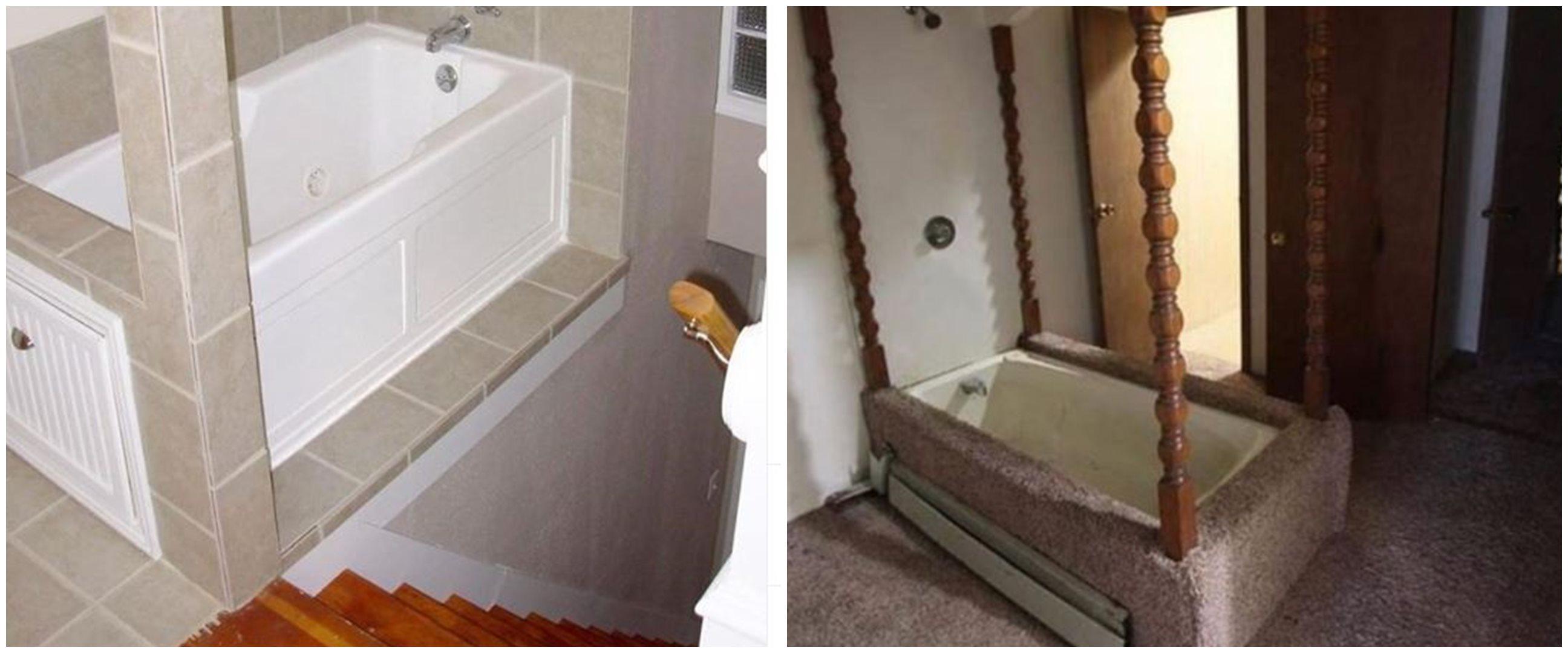 10 Potret bathtub ini desainnya antimainstream, nyeleneh abis