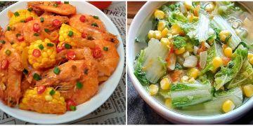 10 Olahan jagung untuk menu makan siang, enak dan menggugah selera