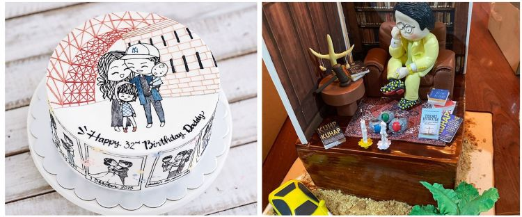 20 Potret kue ulang tahun seleb, punya Glenn Alinskie curi perhatian