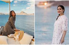 7 Adu gaya Nagita Slavina dan Paula Verhoeven liburan ke Labuan Bajo