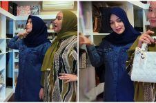 10 Potret walk in closet Citra Kirana, koleksinya mirip butik