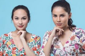 10 Potret kompak Yunita Siregar dan Celline Meliana, bak kakak beradik