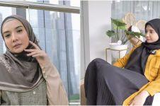 10 Penampakan rumah sementara Zaskia Sungkar, penuh koleksi tanaman