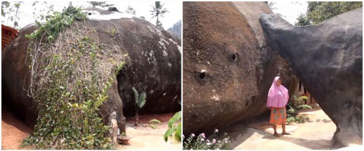 10 Potret unik rumah batu di Wonogiri, isi dalamnya bikin takjub