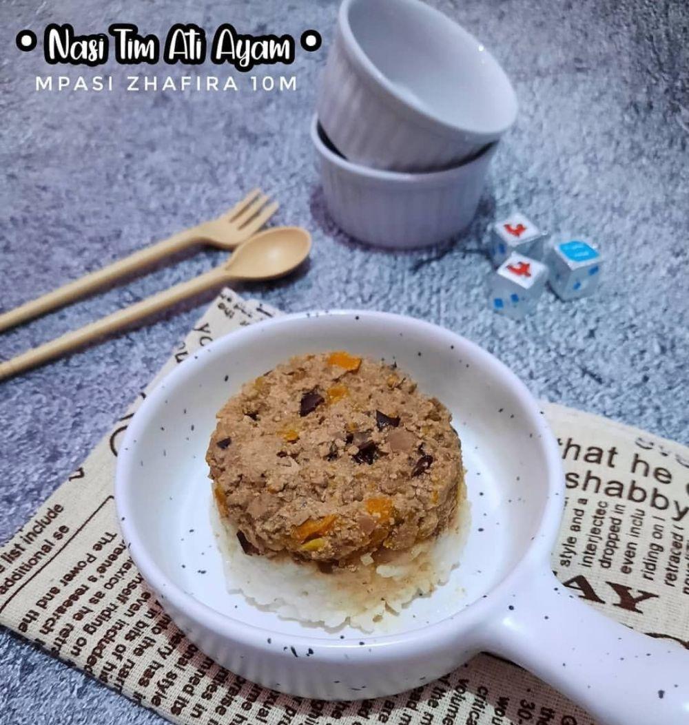 Resep kreasi menu mpasi ©Instagram