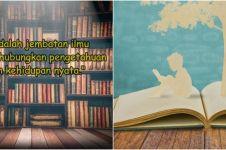 40 Kata-kata mutiara tentang buku, terbaik dan bikin semangat baca