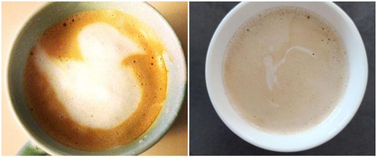15 Kejadian tak disengaja di gelas kopi ini hasilnya keren